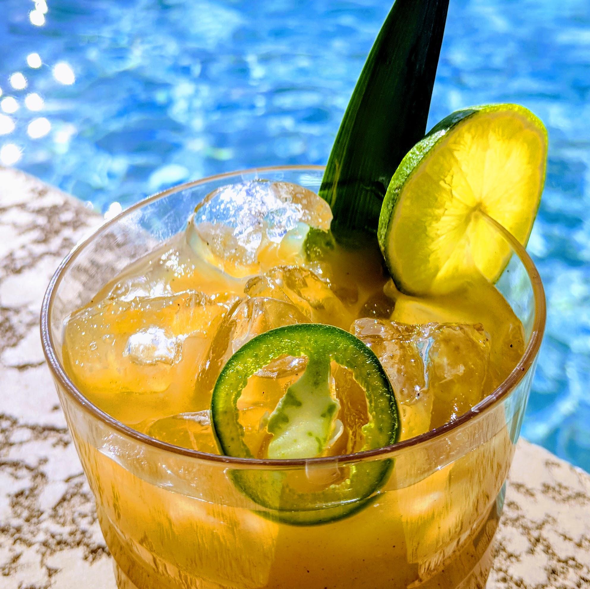 Grilled Pineapple & Jalapeno Margarita
